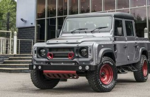 Defender Land Rover 110 Double Cab Pick от A. Kahn Design