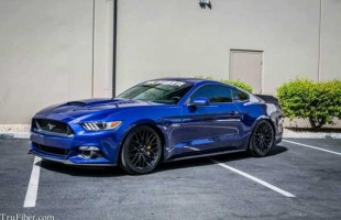 Trufiber преобразил Ford Mustang GT